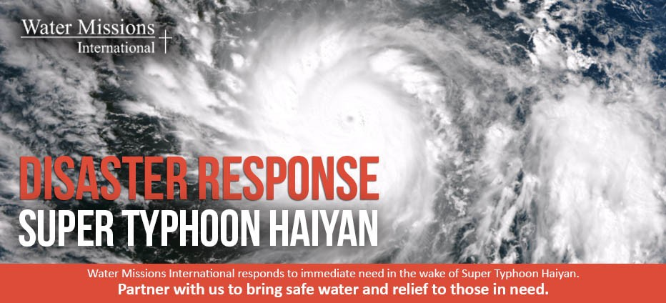 Drinking Water Needed After Super Typhoon Haiyan